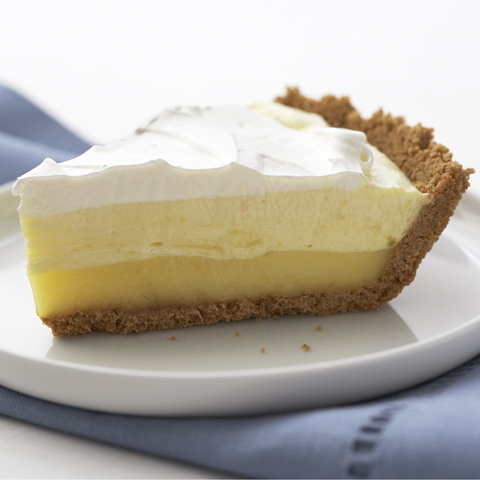 Triple-Layer Lemon Pie Recipe