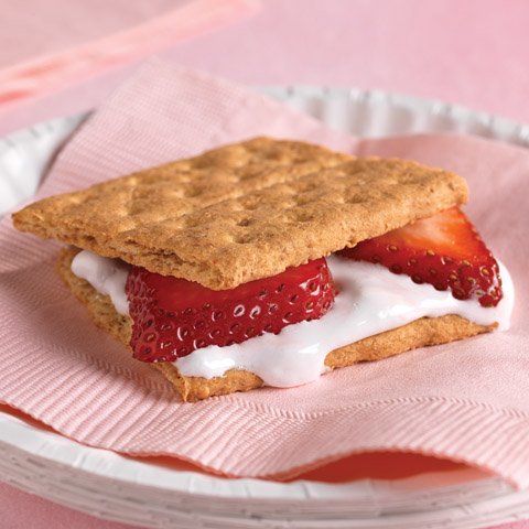 Strawberry S'mores Recipe