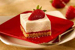 Strawberry Cheesecake Squares Recipe
