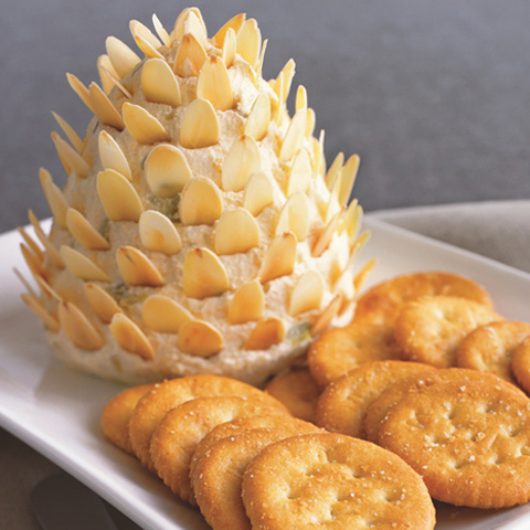 RITZ Pinecone Cheese Spread Recipe