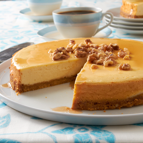 CHRISTIE Sugar Shack Maple-Walnut Cheesecake Recipe