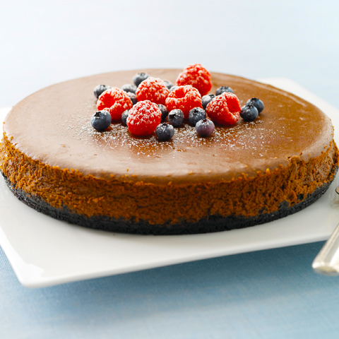 DAIRY MILK Chocolate Royale Cheesecake Recipe
