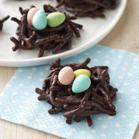 Nids au chocolat CADBURY Recipe