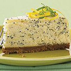 Gâteau au fromage P'TITE ABEILLE aux agrumes et graines de pavot Recipe