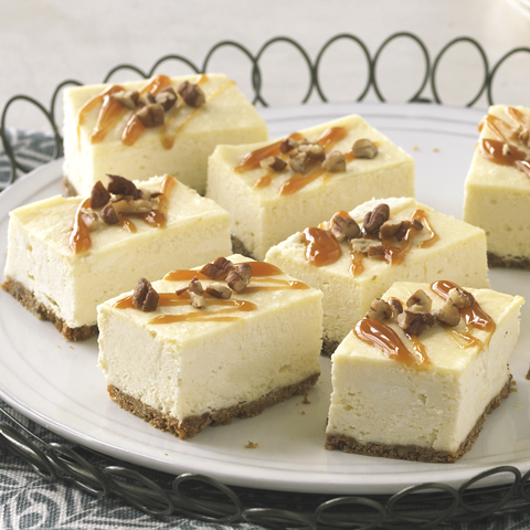 HONEY MAID Caramel Cheesecake Bars Recipe