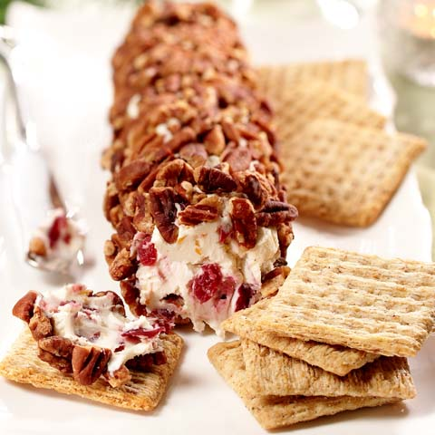 Cranberry and Pecan Cheese Log Recipe