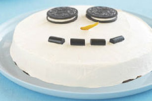 Cookies & Cream Snowman Dessert Recipe