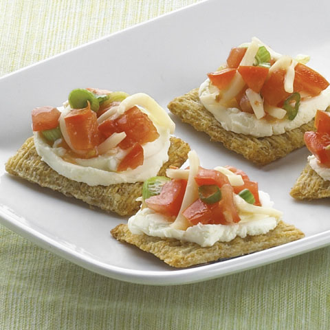 TRISCUIT Bruschetta Bites Recipe
