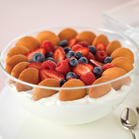 Vanilla-Berry Trifle in a Cloud Recipe