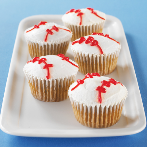OREO Baseball Cupcakes Recipe