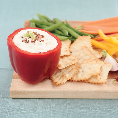 New Ranch Dip with RITZ Chips Recipe