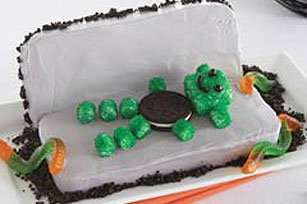 Monster Coffin Cake Recipe