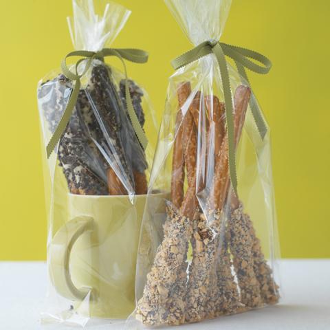 Bretzels confetti au chocolat OREO Recipe