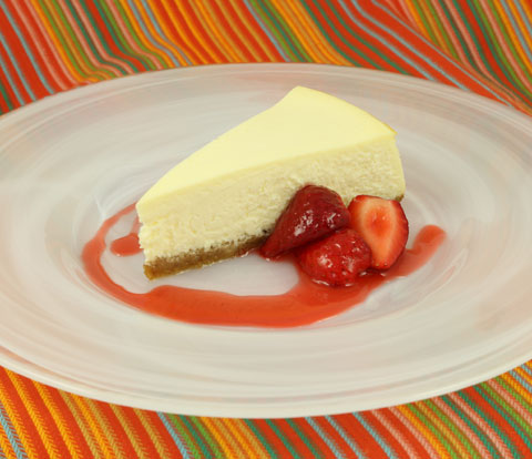 New York-Style Cheesecake with NABISCO Grahams Recipe