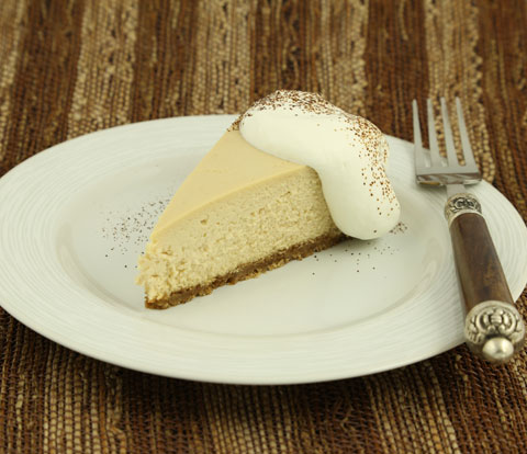 Creamy Café Latte Cheesecake with NABISCO Grahams Recipe