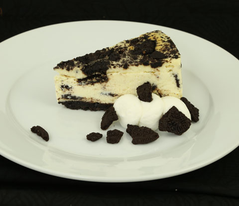 New York-Style Cheesecake made with OREO Cookie Pieces Recipe