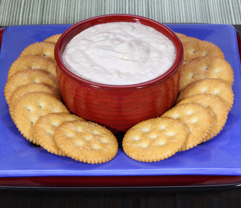 Caramelized Onion Dip with RITZ Crackers Recipe